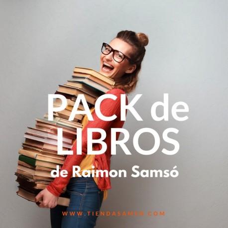 PACK 25 LIBROS DE RAIMON SAMSO