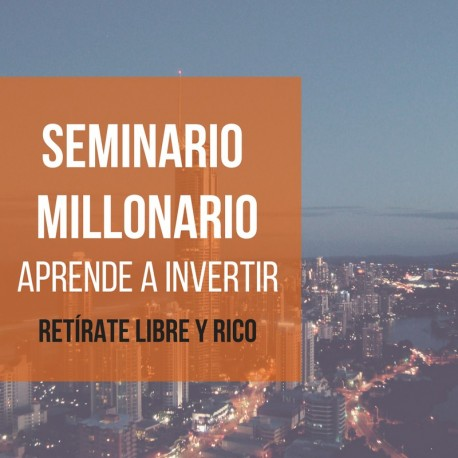 SEMINARIO MILLONARIO 2019 (streaming)