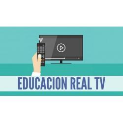 Educación Real TV (video lecciones suscripción anual)
